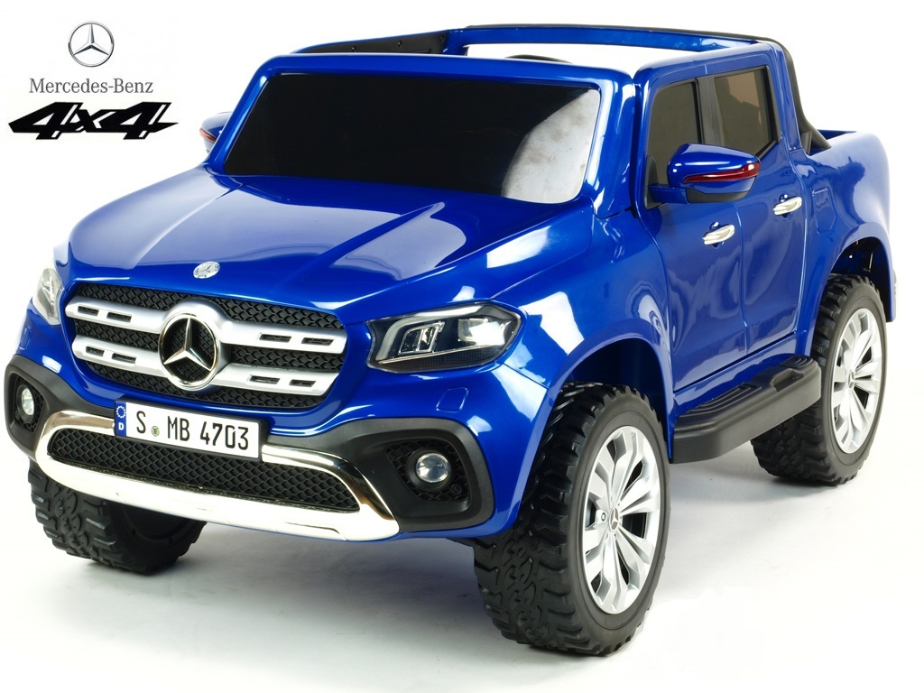 Mercedes - Benz X-Class 4x4 pick up Modrá metalíza